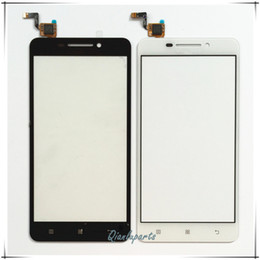 Wholesale Replace Phone Screen - Wholesale-5inch Replace High quality mobile phone touch panel sensor For Lenovo A5000 touch screen digitizer front glass lens touchscreen