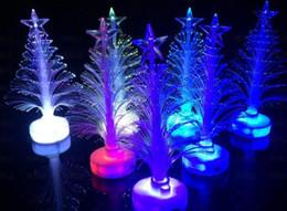 vente en gros de crayons noirs Promotion Décorations de Noël Clignotant Arbre De Noël LED flash bar parti célébration accessoires cadeaux livraison gratuite