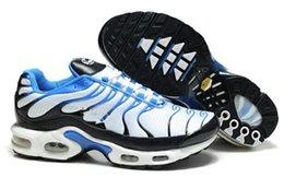 Wholesale Wholsale Sale - Wholsale Men tn Chaussures hommes Running Shoes Sale Online Fashion Breathable Lace Up Sneakers Sport Outdoor Shoes Outlet Size EU41-46