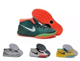Wholesale Leather Shoes Discount Sale - Drop Shipping New arrival Wholesale new basketball sneakers Men Kyrie 1 Sneakers Boots Discount Outdoor Hot Sale Sports Shoes Size 7-12