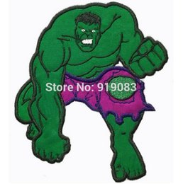 6  Hulk Crush It large felt Applique patch Avengers Cartoon TV Series Costume Embroidered iron on Tshirt TRANSFER APPLIQUE  sc 1 st  DHgate.com & Wholesale Avengers Patch Australia | New Featured Wholesale Avengers ...