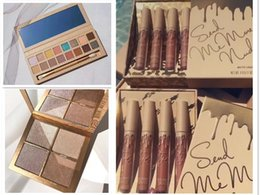 Wholesale Natural Collection Foundation - New Kylie Jenner 16color Take me on Vacation Pressed Powder Eyeshadow & Bronzers & Highlighters Powder Foundation & Vacation Collection