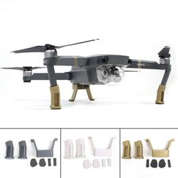 Wholesale Dji Gear - DJI Mavic Pro Heightened Landing Gear Lengthened Extended Support Safe Landing Bracket Protector for DJI Mavic Pro quadcopter
