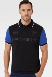 Wholesale British Clothing Brands - Brand clothing New Men Polo Shirt Hacket SPORT Racing British Fashion Business Casual shirts Short Sleeve breathable HKT polos t-shirt