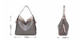 Wholesale Large Cross Body Hobo Bags - LYKANEFU Luxury Handbags Famous Brand Tote Handbag Women Bag Top-handle Hobo Shoulder Bags Large Capacity Bolsa Feminina