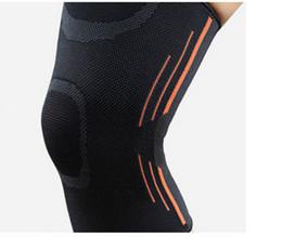 2019 equipo de voleibol deportivo Elastic Sports Leg Soporte de rodilla Brace Wrap Protector Rodilleras Protector de seguridad Rodillera Sleeve Cap Patella Guard Voleibol Rodilla