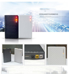 Wholesale Powerbank Router - Universal 5V 9V 12V for UPS Routers Cameras ups Power Bank 10000mAh External Battery Portable Charger Bateria Externa Pack Powerbank