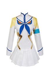Anime halloween vestire in su online-Costume cosplay Malidaike Anime Halloween KILL KILL la Satsuki Kiryuin Halloween Party Dress Up