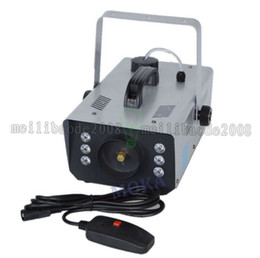 Wholesale High Quality Stage - 2017 NEW high quality LED 900W Fog Machine Mini 900w RGB LED Smoke Machine Stage Special Effects dj equipment MYY