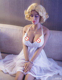 Wholesale Nude Dolls Small - Silicone Sex Doll For Men Life Size 166cm Full Body Silicone Japanese Adult Sex Doll Small Breast Nude Girl Real Vagina Whit Metal Skeleton