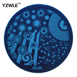 Wholesale Lace Stamps - Wholesale- 1 PC Optional JQ Series (75 Styles Available) DIY Nail Art Lace Flower Stencils Stamping Template Printing Image Plates (JQ-60)