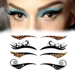Gros-4 paires d'autocollants pour les yeux Stick double paupière Eyeliner autocollant beauté yeux maquillage outils A2 ? partir de fabricateur