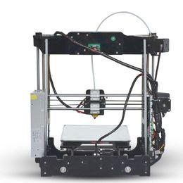 Wholesale 3d Printer Aluminum - Wholesale desktop 3D Printer Print Size 220*220*210 mm & 8G SD Card Feed frame Assemble tools USB line for gift (big main board)