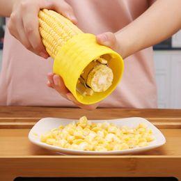 Wholesale Corn Cob Peeler - Corn Stripper Tools - Corn Stripping Tool Cob Thresher Peeler Remover Cutter Shaver Kitchen Gadgets Accessories Supplies