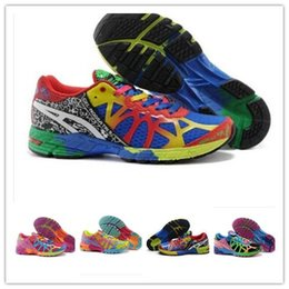 Wholesale Gel Shipping - 2017 Gel Noosa TRI 9 IX Runningl Shoes For Men Women High Quality 2016 New Lightweight Athletic Sneakers Size 5.5-11 Free Shipping