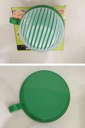 Wholesale Vegetable Cuts - New 60 seconds salad Maker bowl cut fruit vegetables cutter bowl Creative kitchen tools big large plastic mixing set adapter