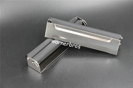 Wholesale Paper Hand Cigarette Rolling - 6pcs 70mm metallic cigarette tube hand rolling machine silver metal WICKLER hand manual tobacco roller maker injector cigarette paper tool