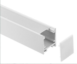 2m bar licht online-Freies Verschiffen 2m / pcs, 50m / lot führte Aluminiumprofil für geführtes Stablicht, geführter Streifenaluminiumkanal, wasserdichtes Aluminiumgehäuse