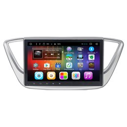 Wholesale Dvd For Hyundai Accent - Android 6.0 10.1inch car dvd player for new Hyundai Verna Solaris Accent 2016 2017 with Radio FM SWC GPS free maps