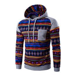 Wholesale Mens Pink Tracksuit - Wholesale- 2016 Brand Sweatshirt Mens Hoodies Fashion Printed Hoodie Mens Causal Suit Pullover Men's Tracksuits Sportwear Male A8897 98 99
