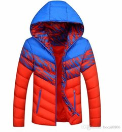 Wholesale Coat Colorful Men - AD man coat and jacket and comfortable recreational coat man winter jacket 3 color colorful printing jacket wholesale sales 1677