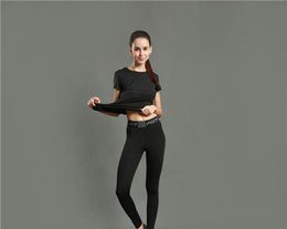 Wholesale Girls Sport Tights - Sports Tights Pants Girls Running Fitness Yoga Pants Pure Color Quick Dry Breathable