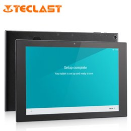 Wholesale teclast android tablets - Wholesale- Teclast X10 3G Phone Call Tablet MTK8392 Octa Core Android 5.1 IPS 1280x800 Screen 1GB RAM 16GB ROM GPS 10.1 inch Tablet PCs