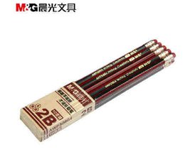 Wholesale Cheap Drawing Sets - Wholesale-10 pcs lot Containing Rubber 2B Cheap Cell Writing Drawing Artist Examination Practical Pencil School Office Supplies Student