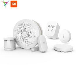 Venta al por mayor-original Xiaomi Smart Home Automation Modules | Centro multifuncional (necesidad) | Toma / Interruptor / Sensores desde fabricantes