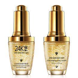 Wholesale Lotion Serum - BIOAQUA 24K Gold Face Cream Whiten Moisturizing 24 K Gold Day Cream Hydrating 24K Gold Essence Serum For Women Face Skin Care