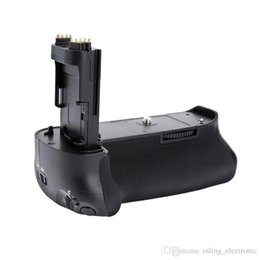 Wholesale Eos 5d Mark - Meike MK-5D3 Vertical Battery Grip Holder Handy Pack for Canon EOS 5D Mark III 5D3 5DIII DSLR Camera as BGE11 BG-E11