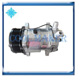 Компрессоры для кондиционирования воздуха онлайн-Автомобильный кондиционер компрессор 508 5H14 8pk 125мм