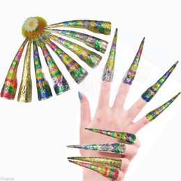 Wholesale Chinese Cloisonne - Wholesale10pcs Chinese Traditional Qing Style Handmade Cloisonne Nail Protector