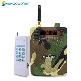 Discount mp3 bird decoy hunting - Wholesale- 150Db 1000M Remote control Speaker Hunting Speakers Fm Radio Bird Caller Duck Decoy Animal Bird Sound Calls Hunting TF USB Mp3