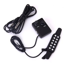 Wholesale Clip Guitar Pickup - Clip-On Acoustic Classical Guitar Pickup Soundhole Pickup--Black