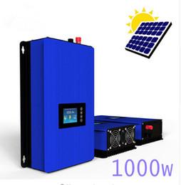 Wholesale Solar Waving - 1000W battery disharge mode MPPT Solar Grid Tie inverter with limiter,pure sine wave DC22-60V 45-90V