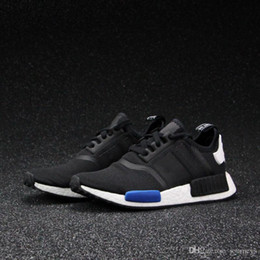 Wholesale Cheap Casual Boots For Men - 2017 Wholesale NMD Runner Running shoes For Women Men Ultra Grey Eur 36-46 Sport Runners Sneakers Trainers Brand Casual Cheap With Box