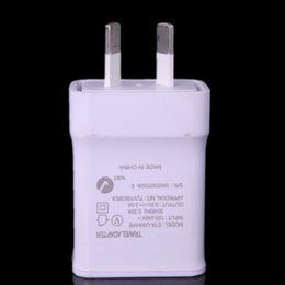 Cargador de pared para el hogar au plug online-50 unids Au Nueva Zelanda de Alta calidad 5 V 2A AU Enchufe USB AC Power wall cargador de casa para Samsung Galaxy Note 2 3 4 N7100 S5 S4 S6 S7