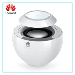 Wholesale Iphone Aluminum Button - Original Huawei Bluetooth Speaker AM08 Portable Speaker Singing Swan Bluetooth AMBOX Portable Mini Wireless Speaker for iPhone