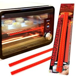 Wholesale The Original Heat Resistant Silicone Oven Rack Guard With Special Interlocking Design Pack of