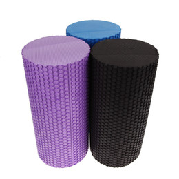 2019 palle di yoga blu 4 colori Yoga Blocks Gym Exercise Fitness Floating Point EVA Yoga Foam Roller Physio Trigger Massage