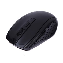 Wholesale Gaming Mouse Sale - Wholesale- 2017 Hot Sale 2.4GHz 6 Buttons 2400 DPI Optical Wireless Gaming Mouse USB Receiver Mice Cordless Game Computer PC Laptop Mice