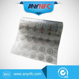 Virutas secas online-Al por mayor- Tipo redondo NFC Dry embutido 23mm con chip FM08 compatible con todos los teléfonos nfc * Envío gratuito *