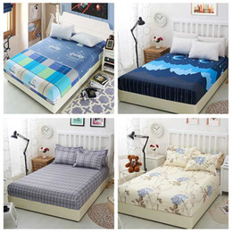Wholesale Full Fitted Sheet White - muchun Brand Christmas Bedding Sets Aloe Cotton Starry sky 4 pcs Comforter Duvet Cover Fitted Sheets Jacquard Home Textiles Drop Shipping