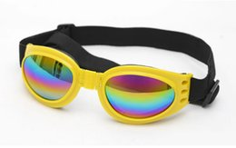 Wholesale Halloween Party Sunglasses - Dog Cat Christmas Halloween Party Decorations Pet Dog Sunglasses Windproof Pet Eye Protection Goggle Multi-Color Fashionable Decor Supplies