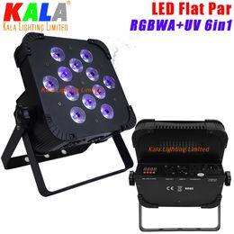 Wholesale Par Rgbwa - High Quality KALA CIF12 6in1 Color RGBWA+UV LED Wash Par Lightings 12x18W LED Flat Par Light