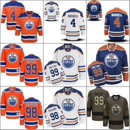 a18b37bb9 2017 new 4 Kris Russell 98 Jesse Puljujarvi 99 Wayne Gretzky Edmonton Oilers  NHL Ice Hockey Third Mens Premier Stitched Jerseys from dropshipping  suppliers
