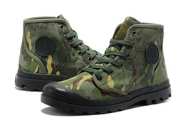 Wholesale Style Leather Mens Boot - Best New 2017 Durable Styles Mens Favorite Brand PM Brand Camouflage Boots Male Size 39 45