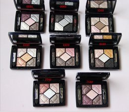 Wholesale Make Up Shimmering Eye Shadow - New Brand 5 Color Eyeshadow Eye Shadow Makeup Make Up Palette 6g