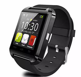 автомобильное зарядное устройство dvd Скидка Бесплатная доставка 2017 Bluetooth-Pphone использование U8 Smart Watch спорт работает синхронизации наручные часы доступны английский китайский красный белый черный